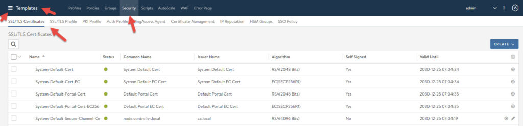 nsx-alb ssl certificates